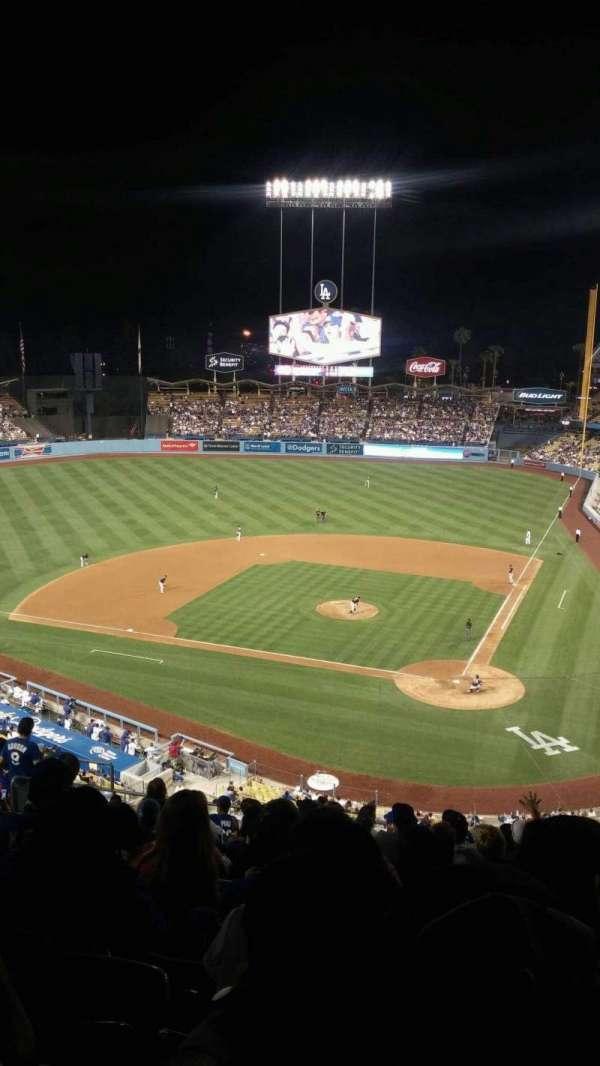 Dodger Stadium, secção: 7rs, fila: P, lugar: 12