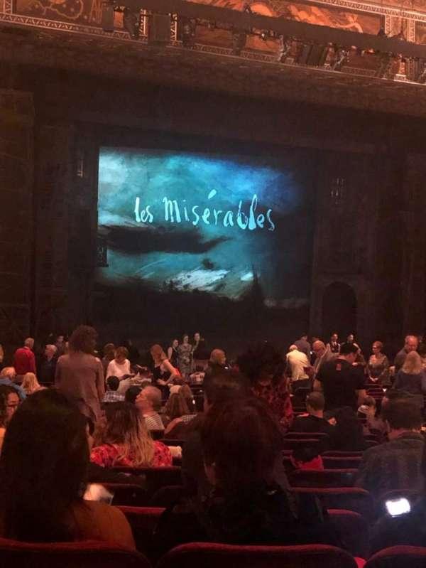 Hollywood Pantages Theatre, secção: Orchestra LC, fila: PP, lugar: 314