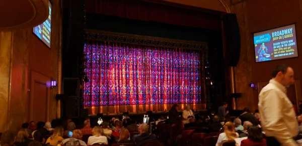 State Theatre New Jersey, secção: ORCH left, fila: P, lugar: 5-7