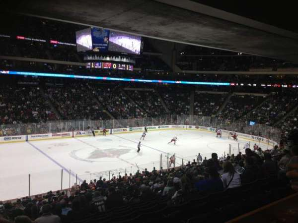 Xcel Energy Center, secção: 118, fila: SRO, lugar: 6