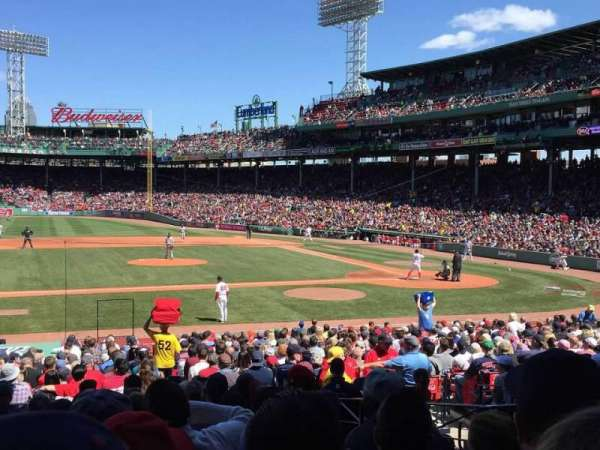Fenway Park, secção: Field Box 57