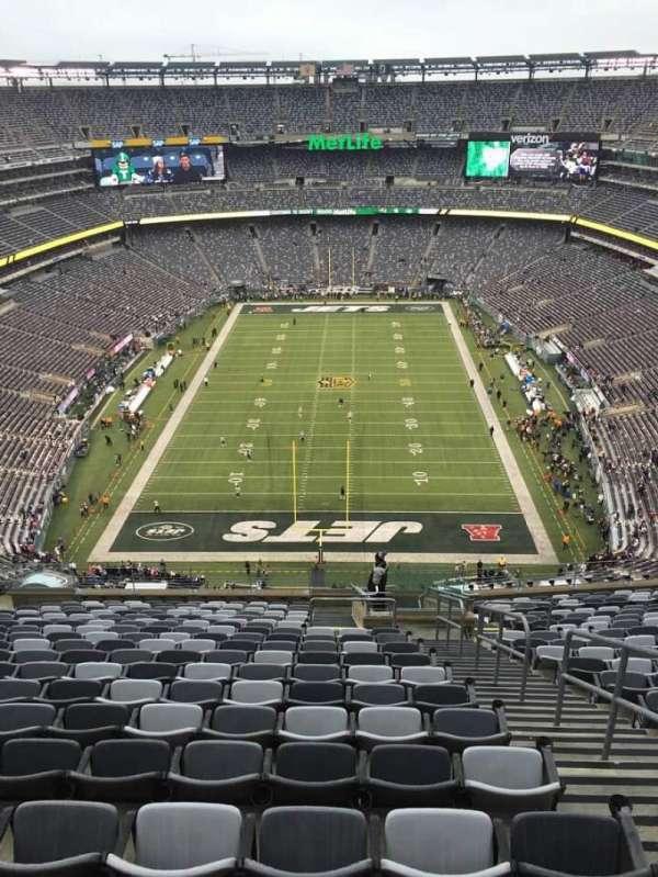 MetLife Stadium, secção: 326