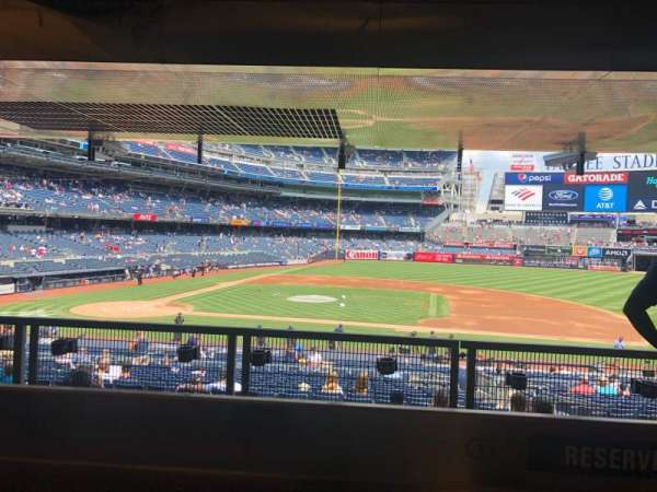 Yankee Stadium, secção: 116, fila: Reserved, lugar: 1