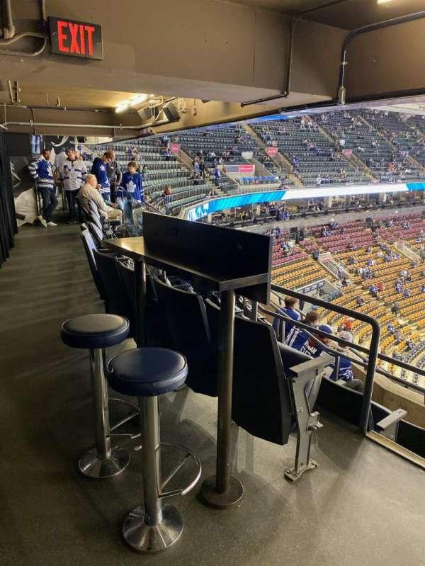 Scotiabank Arena, secção: Molson, fila: 1, lugar: 16-17