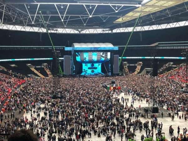 Wembley Stadium, secção: 216, fila: 15, lugar: 60