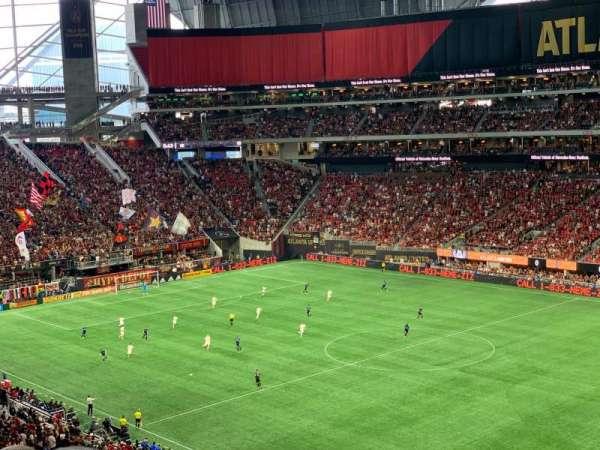 Mercedes-Benz Stadium, secção: 231, fila: 7, lugar: 20