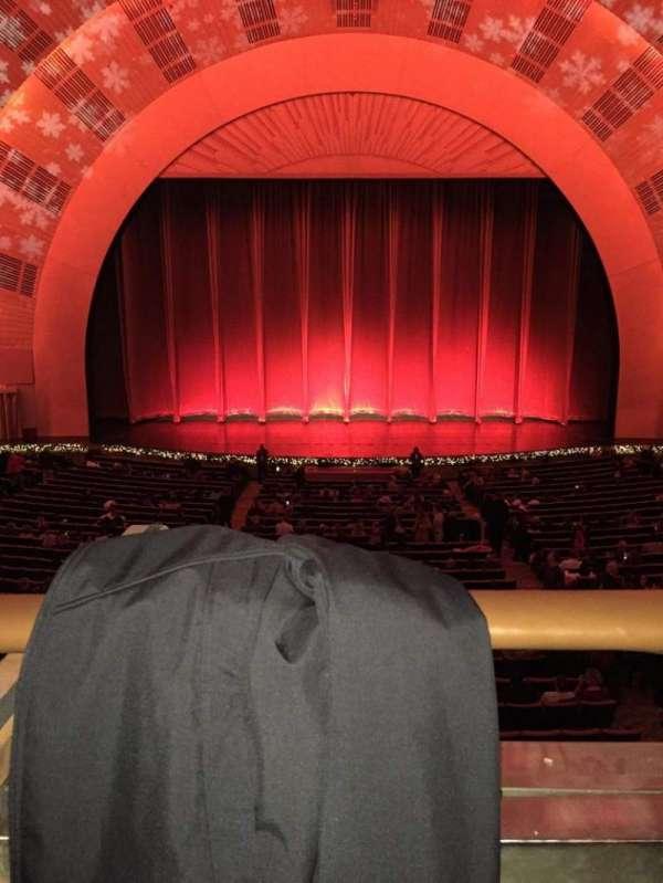 Radio City Music Hall, secção: 1st Mezzanine 4, fila: A, lugar: 408