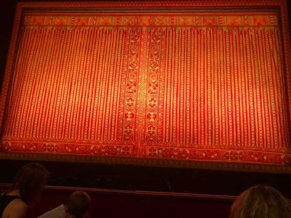 The Kennedy Center Opera House, secção: Orchestra, fila: G, lugar: 106