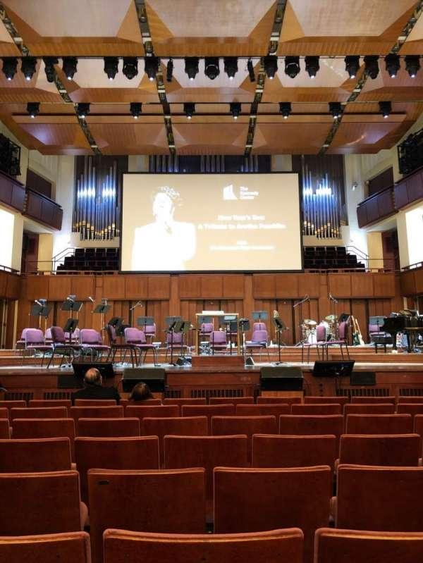 The Kennedy Center Concert Hall, secção: Orhestra, fila: H, lugar: 108