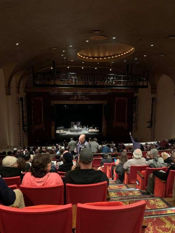 Bergen Performing Arts Center, secção: Balcony L, fila: D, lugar: 3