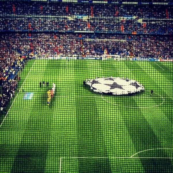 Santiago Bernabéu Stadium, secção: Away Section