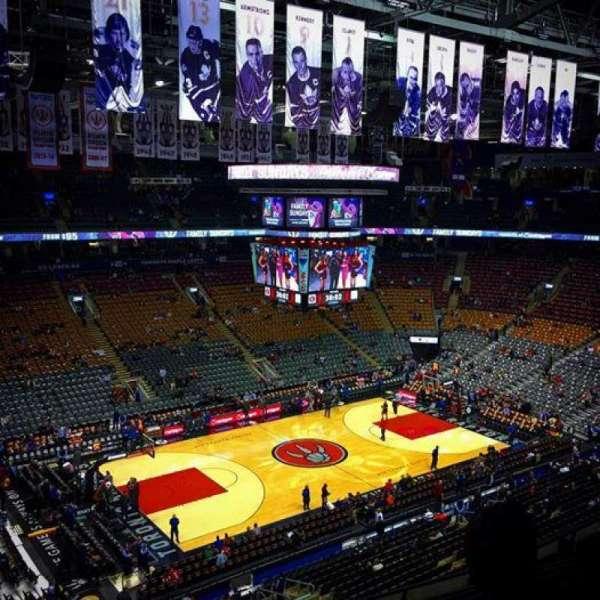 Scotiabank Arena, secção: 311, fila: 8, lugar: 18