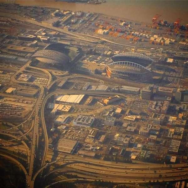 CenturyLink Field, secção: Above