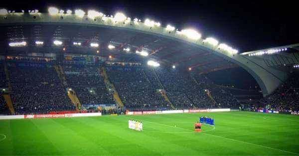 Stadio Friuli, secção: K2, fila: 15, lugar: 22