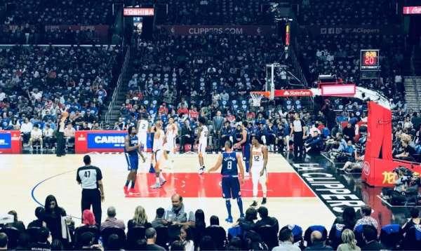Staples Center, secção: 110, fila: 13, lugar: 12