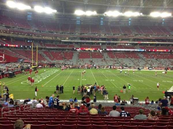State Farm Stadium, secção: 133, fila: 26, lugar: 11