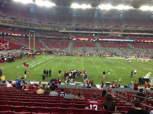 State Farm Stadium, secção: 133, fila: 26, lugar: 5