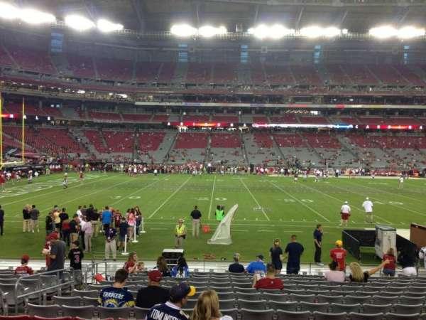 State Farm Stadium, secção: 132, fila: 12, lugar: 13