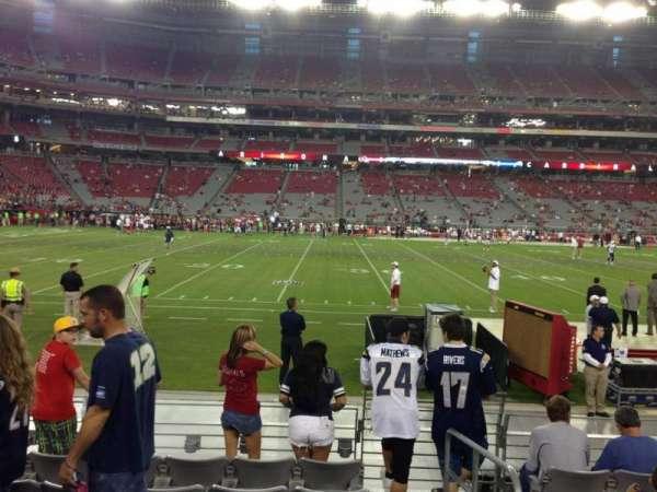State Farm Stadium, secção: 132, fila: 7, lugar: 1