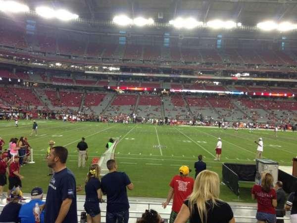 State Farm Stadium, secção: 132, fila: 7, lugar: 7
