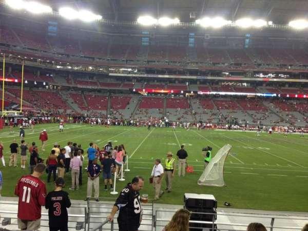 State Farm Stadium, secção: 132, fila: 7, lugar: 18