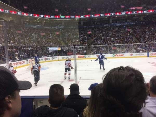 Scotiabank Arena, secção: 120, fila: 5, lugar: 21