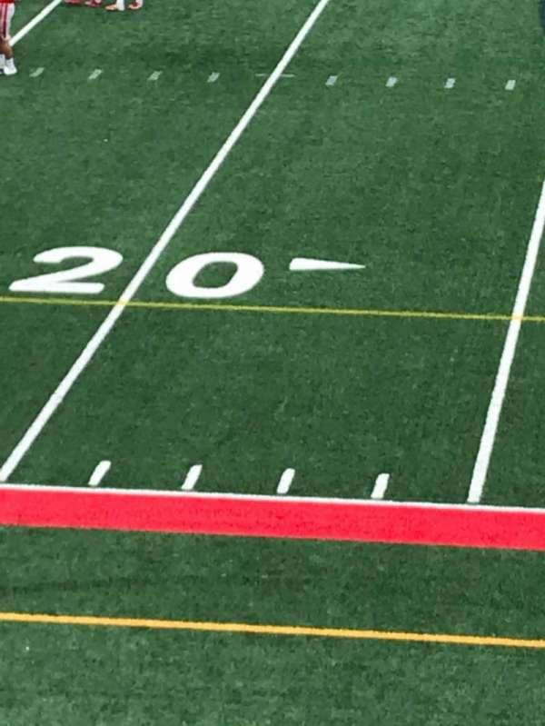 Kenneth P. LaValle Stadium, secção: 201, fila: C, lugar: 11