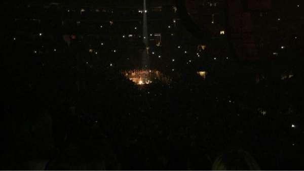 Madison Square Garden, secção: 110, fila: 18, lugar: 16