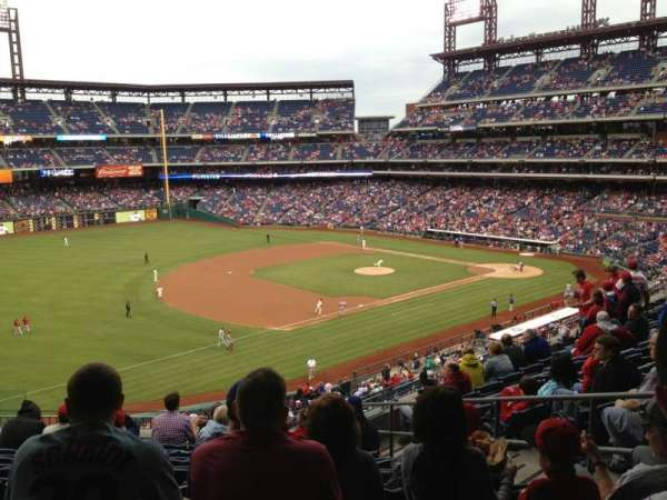 Citizens Bank Park, secção: 233, fila: 9, lugar: 6
