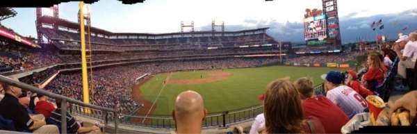 Citizens Bank Park, secção: 204, fila: 3, lugar: 23