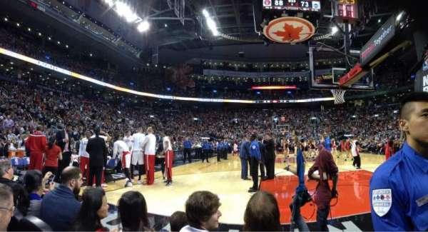 Scotiabank Arena, secção: CRTW, fila: C, lugar: 13
