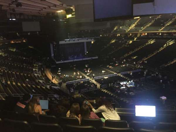 Madison Square Garden, secção: 202, fila: 5, lugar: 9
