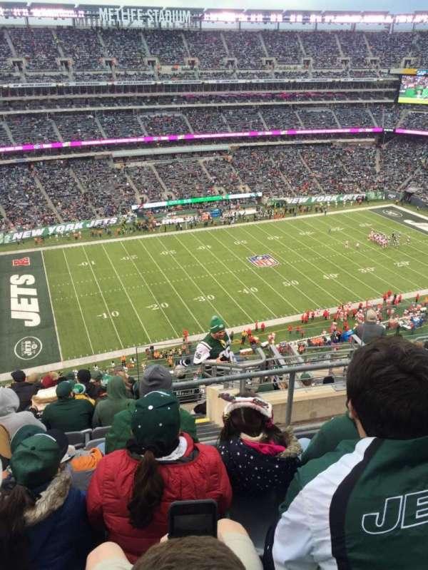 MetLife Stadium, secção: 342, fila: 15, lugar: 5