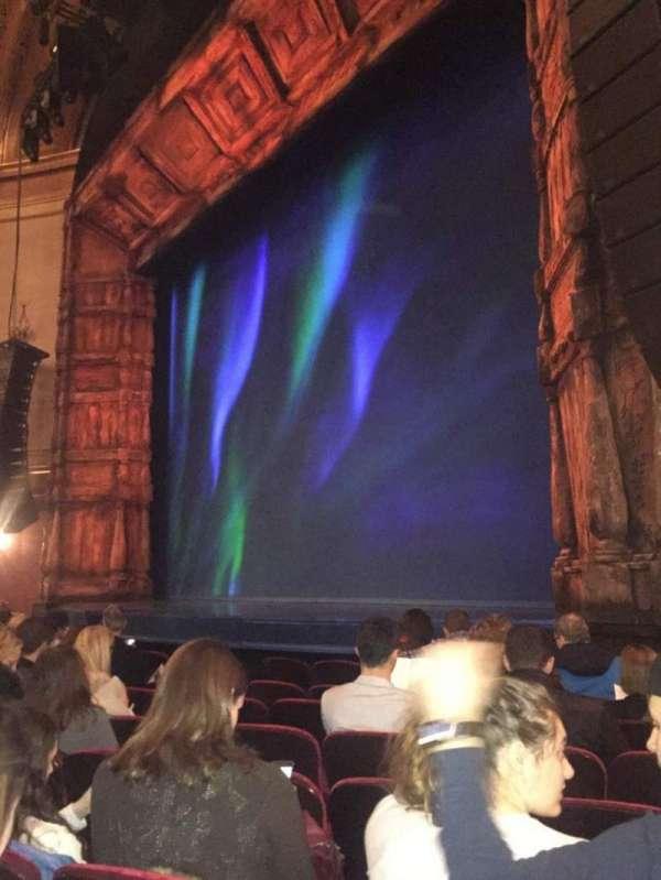 St. James Theatre, secção: Orchestra R, fila: G, lugar: 22