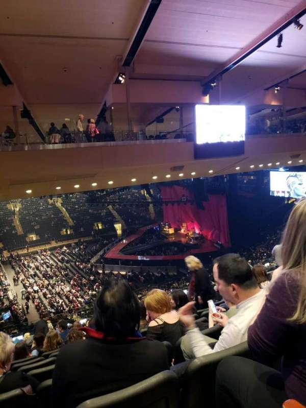 Madison Square Garden, secção: 210, fila: 10, lugar: 5