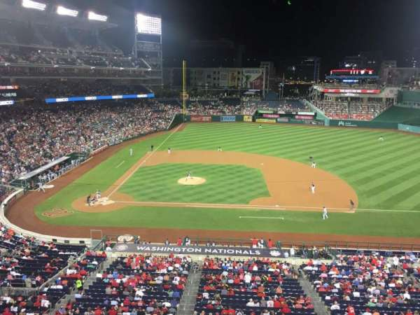 Nationals Park, secção: Jefferson Suite 72