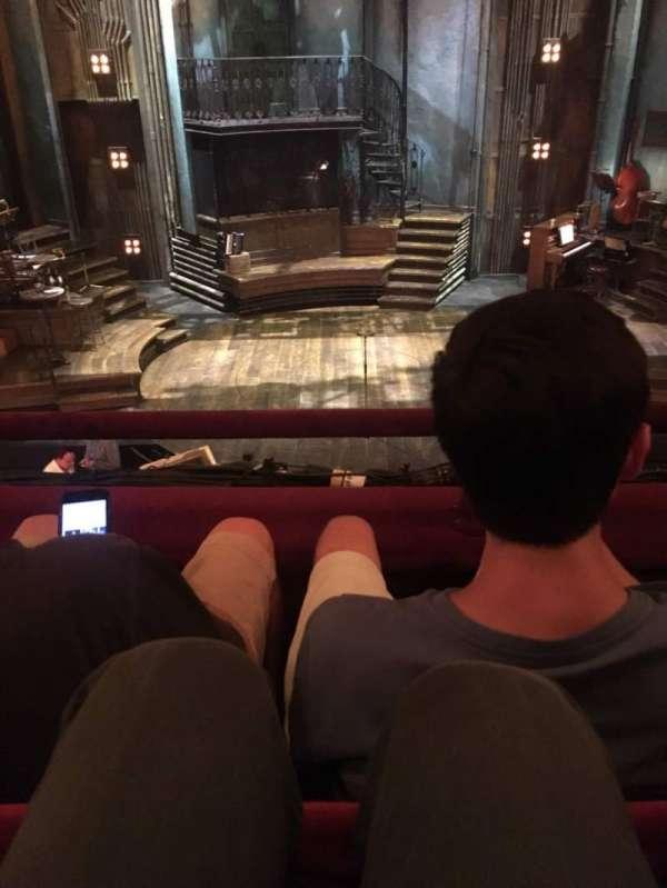 Walter Kerr Theatre, secção: Mezzanine C, fila: B, lugar: 108