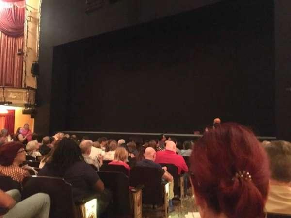 Bernard B. Jacobs Theatre, secção: OrchO, fila: J, lugar: 4