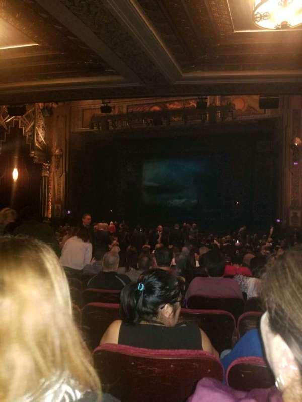Hollywood Pantages Theatre, secção: Orchestra RC, fila: RR, lugar: 208