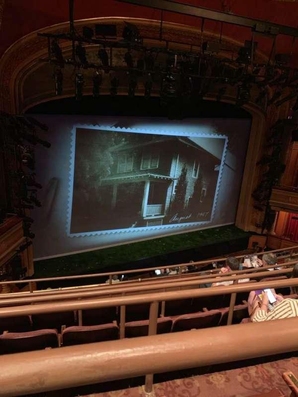 American Airlines Theatre, secção: Rear Mezzanine, fila: E, lugar: 135