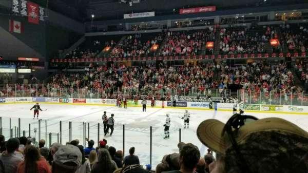 Van Andel Arena, secção: 107, fila: L, lugar: 20