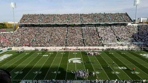 Spartan Stadium, secção: 124, fila: 2, lugar: 5