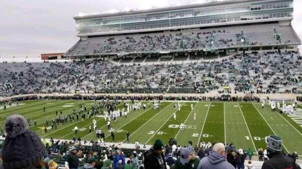 Spartan Stadium, secção: 7, fila: 49, lugar: 6