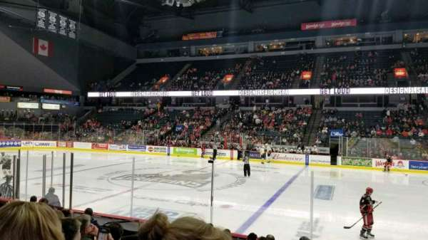 Van Andel Arena, secção: 107, fila: J, lugar: 16