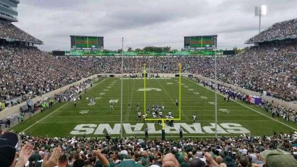 Spartan Stadium, secção: 16, fila: 45, lugar: 48