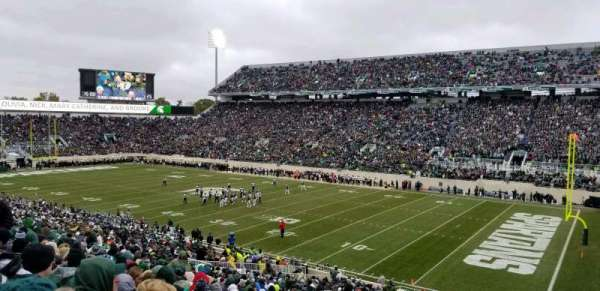Spartan Stadium, secção: 20, fila: 45, lugar: 43