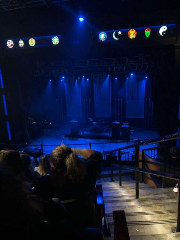 House Of Blues - Dallas, secção: Balcony C, fila: F, lugar: 217