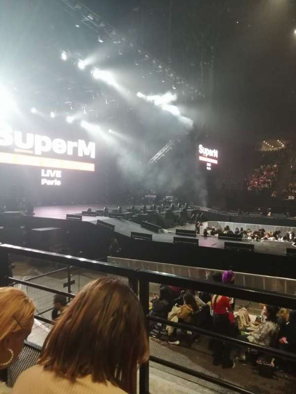 AccorHotels Arena, secção: O, fila: 23, lugar: 4