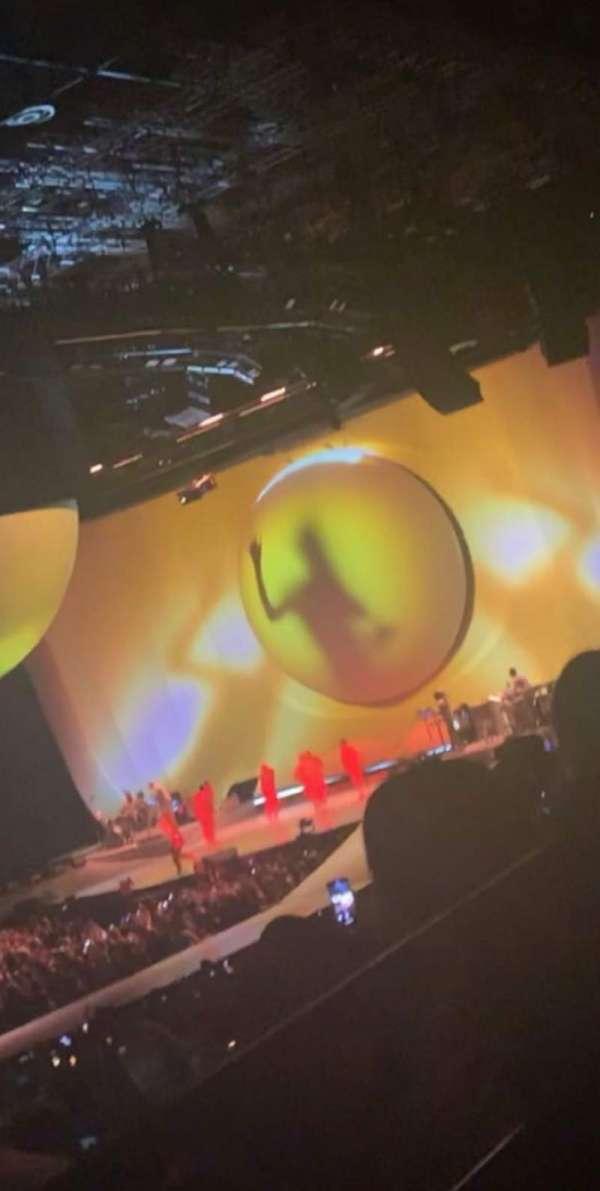 Arena Birmingham, secção: 03, fila: U, lugar: 99