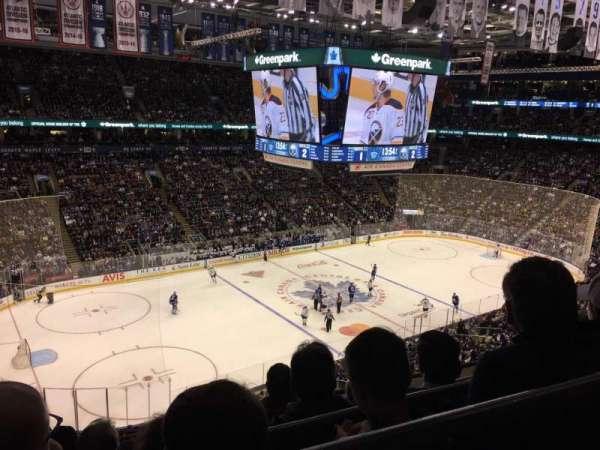 Scotiabank Arena, secção: 311, fila: 5, lugar: 19